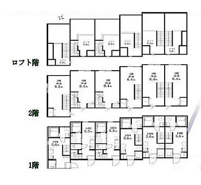 アパート-目黒区目黒3丁目 間取り