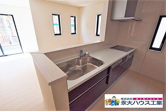 新築一戸建て-岩沼市里の杜3丁目 キッチン