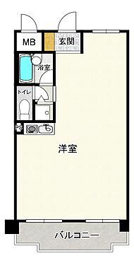 マンション(建物一部)-大阪市北区中津3丁目 間取り