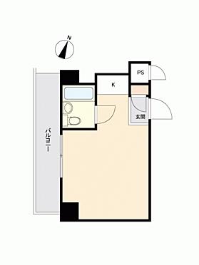 マンション(建物一部)-横浜市西区戸部町 間取り