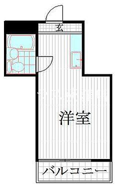 マンション(建物一部)-杉並区清水1丁目 間取り図