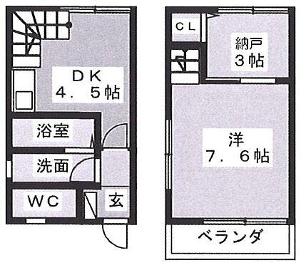 アパート-焼津市大栄町3丁目 同じ間取のお部屋(メゾネット/2DK)が5戸 1住戸賃貸中で、4住戸空き オーナーチェンジ