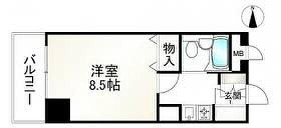 マンション(建物一部)-京都市下京区深草町 間取り
