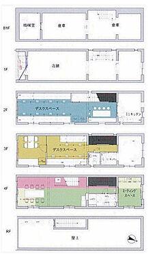 ビル(建物全部)-目黒区目黒3丁目 間取図