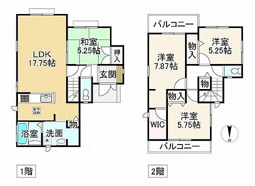 新築一戸建て-神戸市垂水区神陵台5丁目 間取り