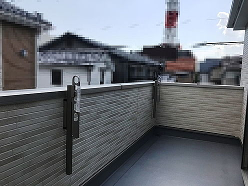 新築一戸建て-茨木市平田2丁目 バルコニー
