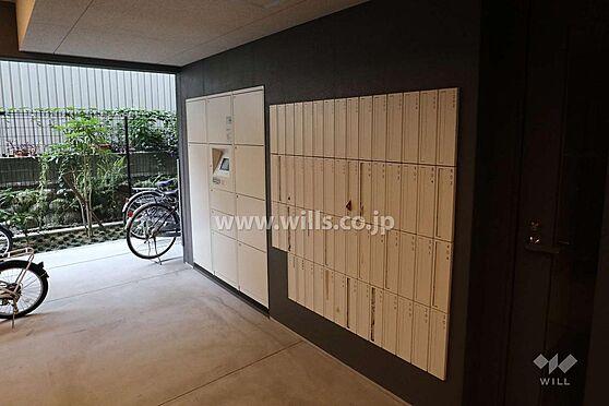 マンション(建物一部)-名古屋市東区葵1丁目 マンション内には大小様々な大きさの宅配ボックスもございます。通販好きな方やご不在がちな方にも心強い設備ですね。