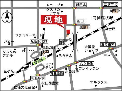 マンション(建物一部)-白山市八ツ矢新町 地図