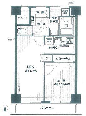 マンション(建物一部)-中央区入船3丁目 間取り