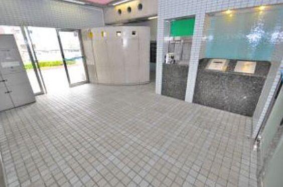 マンション(建物一部)-神戸市長田区大橋町3丁目 明るいエントランス
