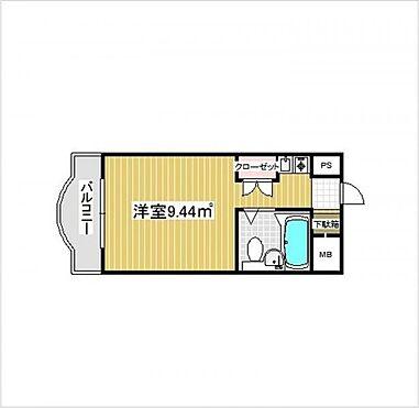 マンション(建物一部)-大阪市淀川区木川西4丁目 間取り