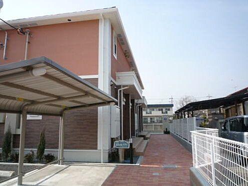 アパート-昭島市緑町3丁目 駐輪場・アプローチ