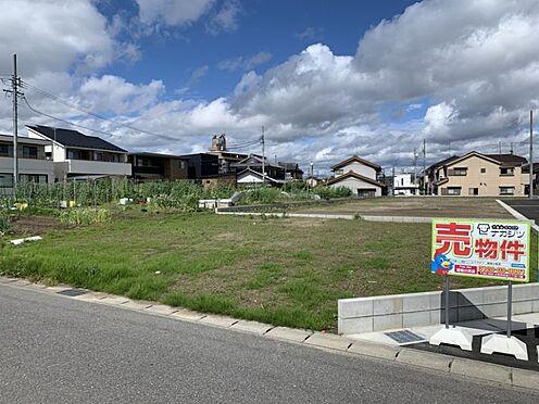 土地-一宮市今伊勢町本神戸字権現 現地写真(2021年6月撮影)建築条件無しのためお好きなハウスメーカーさんで建築可能。