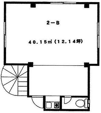 ビル(建物全部)-横須賀市追浜町2丁目 2B間取図