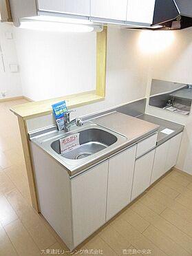 アパート-荒尾市増永 101号室キッチン