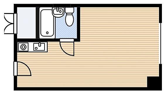 マンション(建物一部)-大阪市福島区福島2丁目 水まわりをコンパクトにまとめた単身者向け物件