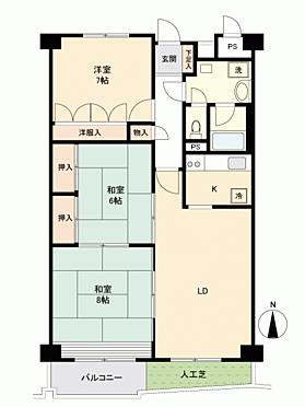 マンション(建物一部)-高松市浜ノ町 間取り