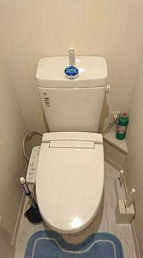 アパート-足立区青井2丁目 トイレ
