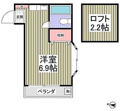 アパート-厚木市三田2丁目 間取り
