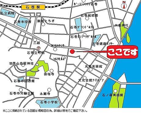 ビル(建物全部)-石巻市立町1丁目 地図