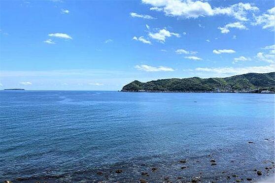リゾートマンション-熱海市上多賀 眺望2:左方向には網代の街並みを一望。