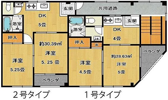 マンション(建物全部)-東大阪市宝町 間取り