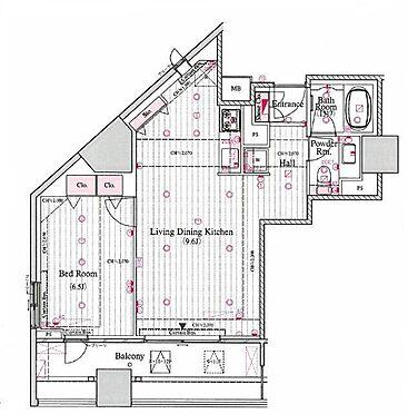 マンション(建物一部)-新宿区北新宿3丁目 間取り
