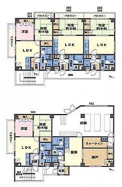 一棟マンション-横須賀市鴨居2丁目 間取り