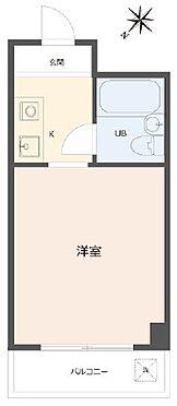 マンション(建物一部)-大阪市都島区都島北通2丁目 水まわりと居室をわけたプラン
