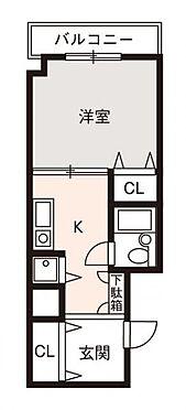 マンション(建物一部)-大阪市西淀川区姫島2丁目 間取り