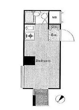 マンション(建物一部)-横浜市西区中央2丁目 間取り