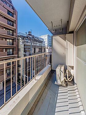 中古マンション-文京区本郷3丁目 南向きで日当たりのよりバルコニー