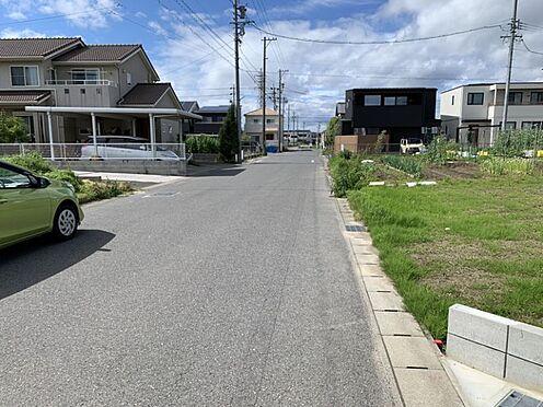 土地-一宮市今伊勢町本神戸字権現 現地写真(2021年6月撮影)前面道路約7mございますので駐車もラクラク。