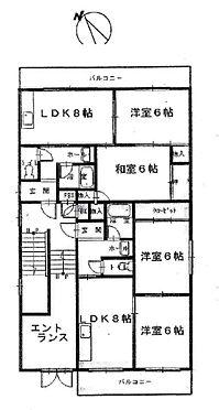 マンション(建物全部)-大阪市東淀川区豊里2丁目 間取り