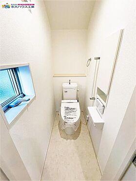 新築一戸建て-岩沼市藤浪1丁目 トイレ
