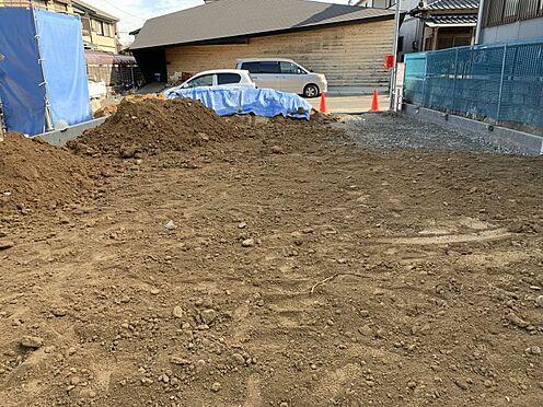 新築一戸建て-豊田市宝来町4丁目 窓付きの明るい洗面所です♪