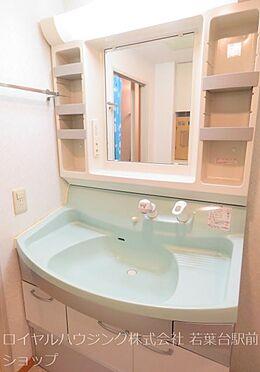 中古マンション-多摩市中沢2丁目 シャワー水栓付き洗面台