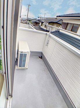 中古一戸建て-名古屋市緑区乗鞍1丁目 南向きの日当たり良好なバルコニー!お洗濯もよく乾きます!