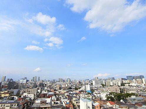 中古マンション-品川区荏原3丁目 バルコニーからの良好な眺望(東京タワー・スカイツリー等を望めます)