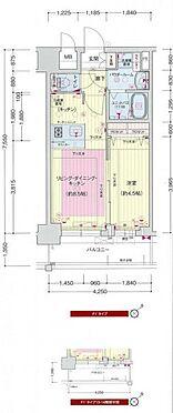 区分マンション-大阪市西区九条南2丁目 間取り