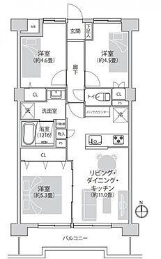 区分マンション-戸田市大字新曽 間取り