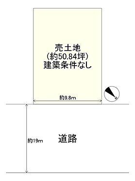 土地-大阪市平野区平野上町1丁目 区画図