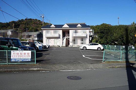 アパート-伊東市宇佐美 外観・2DK×4戸のアパートおよび月極駐車場15台可