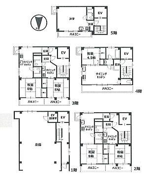 マンション(建物全部)-台東区東上野6丁目 間取り