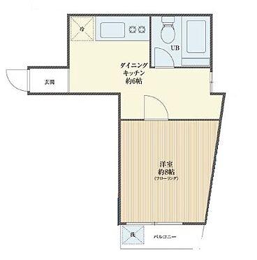マンション(建物一部)-中野区本町4丁目 間取り図