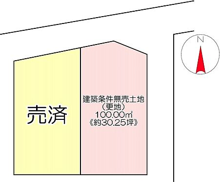 土地-京都市左京区一乗寺東浦町 区画図