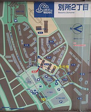 中古マンション-八王子市別所2丁目 配置図・案内図