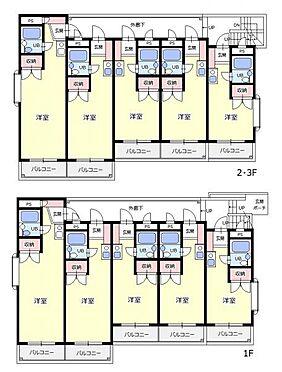 マンション(建物全部)-所沢市有楽町 間取図