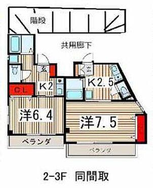 アパート-所沢市元町 間取り