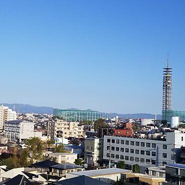 中古マンション-西東京市田無町6丁目 西側バルコニーからの眺望